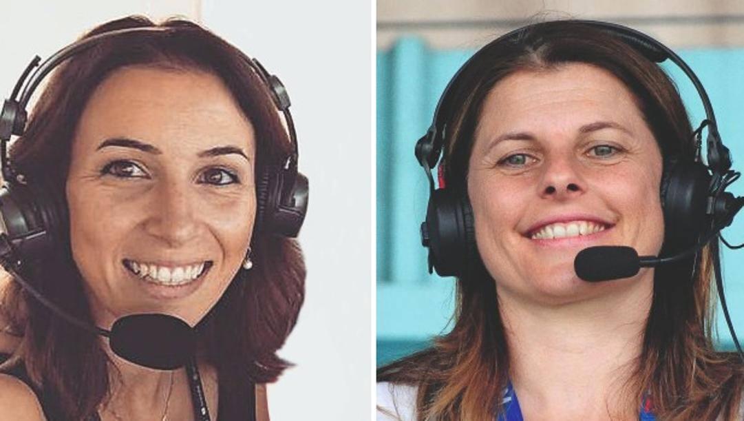 Giada Borgato (a sinistra) e Katia Serra.