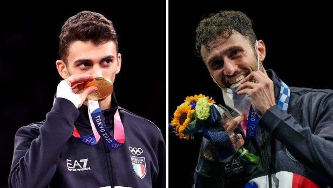 Vito Dell'Aquila, 20 anni, e Luigi Samele, 34