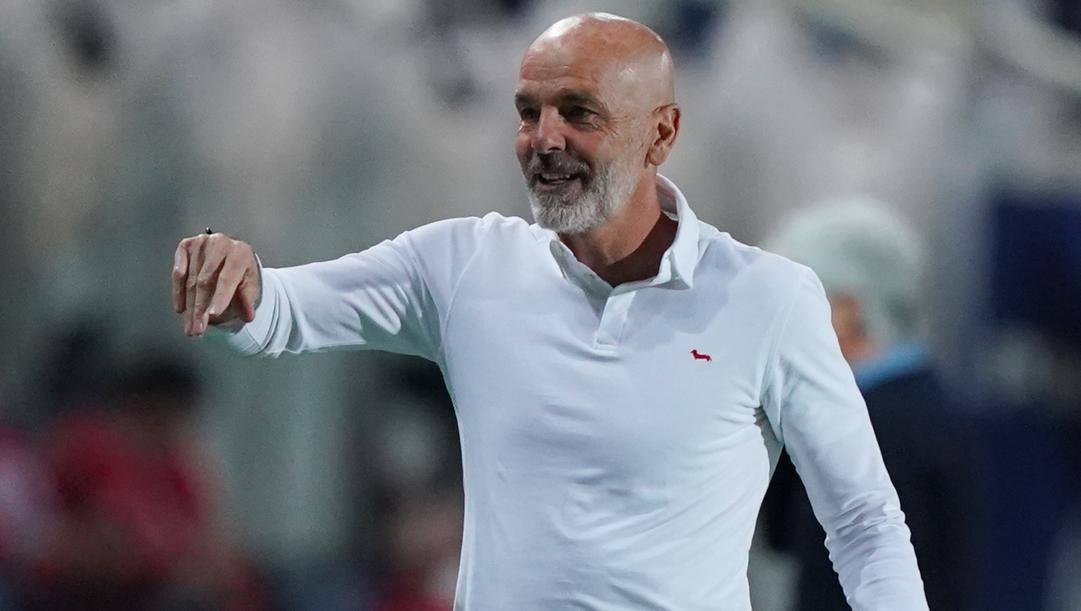 Stefano Pioli, 55 anni. LaPresse