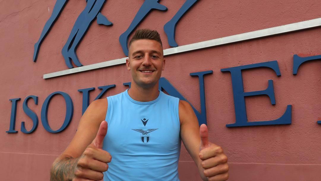 Sergej Milinkovic Savic, 26 anni. Getty
