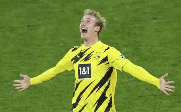 Julian Brandt, 25 anni, in maglia Dortmund. Lapresse