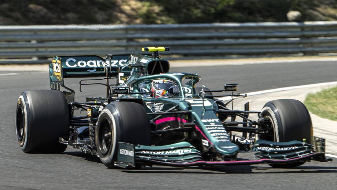 Sebastian Vettel, quattro volte campione del mondo F1. Epa