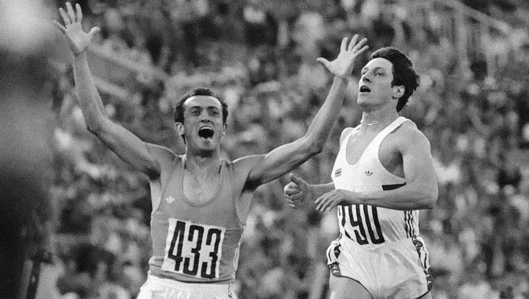 Olimpiadi di Mosca 1980: Pietro Mennea è oro sui 200 metri. LaPresse