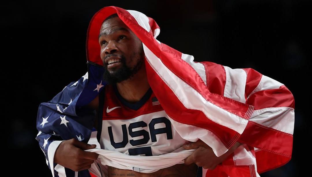 Kevin Durant, 32 anni. Getty
