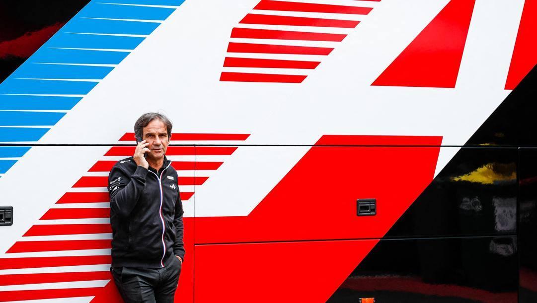 Davide Brivio, racing director Alpine F1