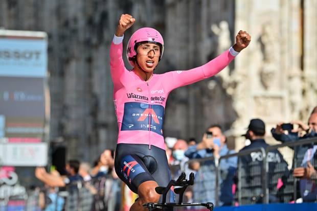 Egan Bernal, 24 anni, ciclista colombiano