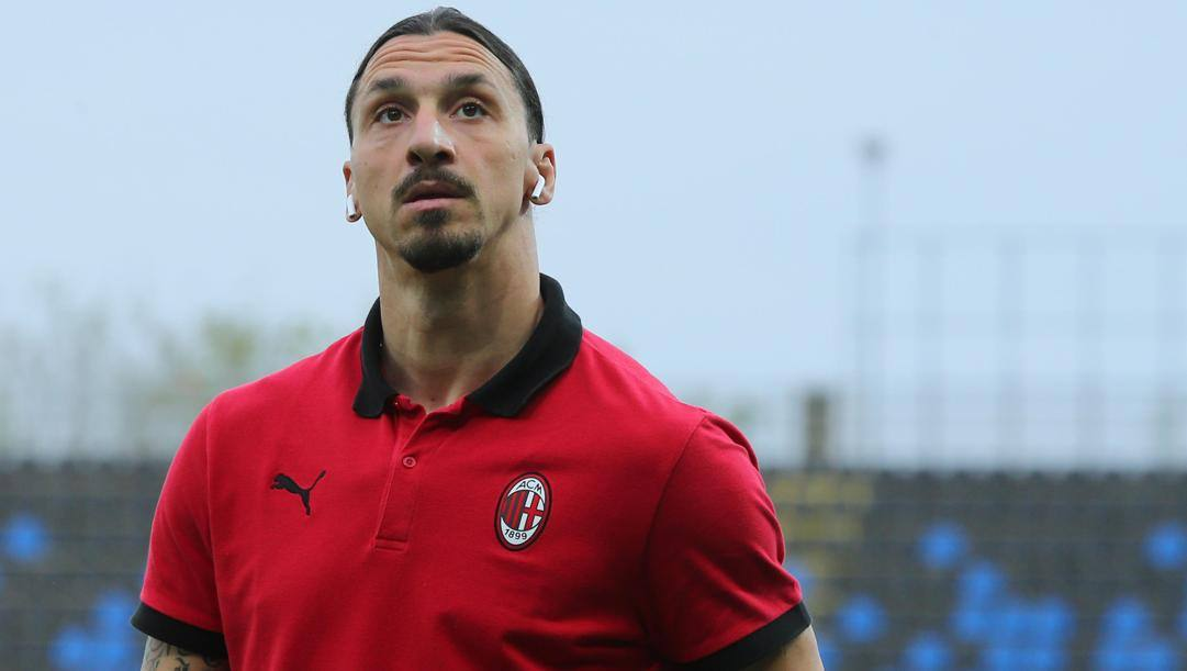 Zlatan Ibrahimovic, 39 anni. Ansa