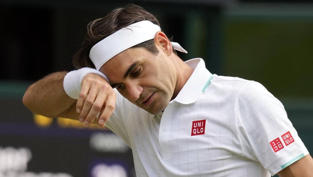Roger Federer, 40 anni. Ap