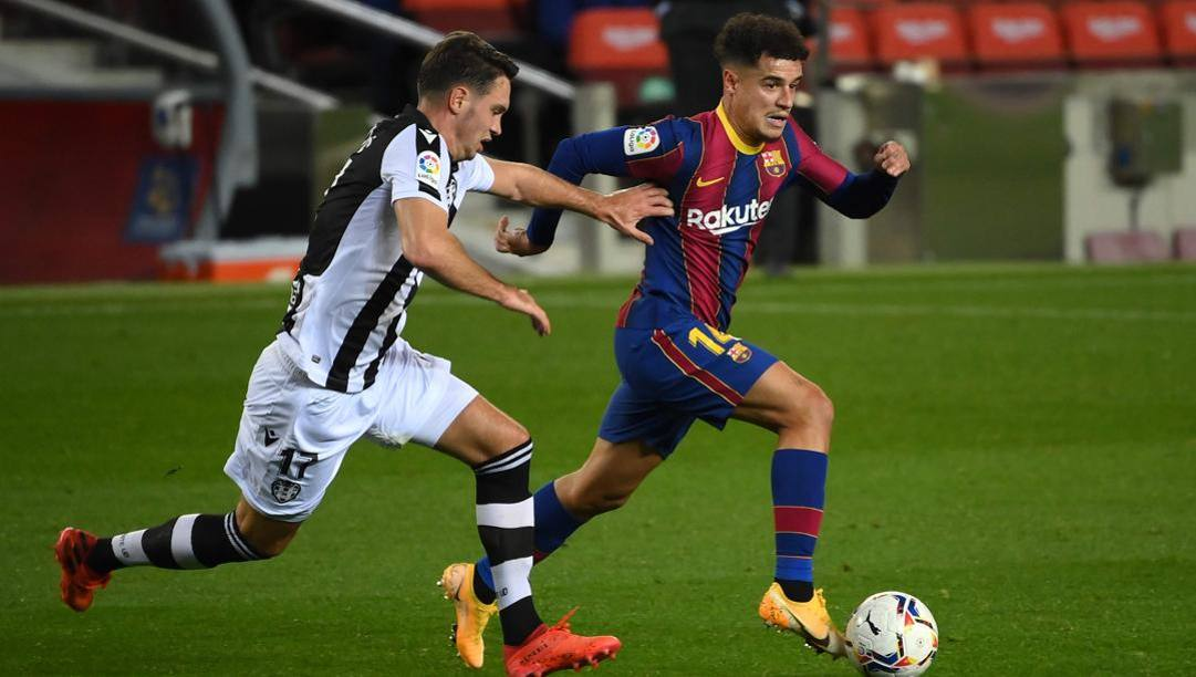 Philippe Coutinho. Afp