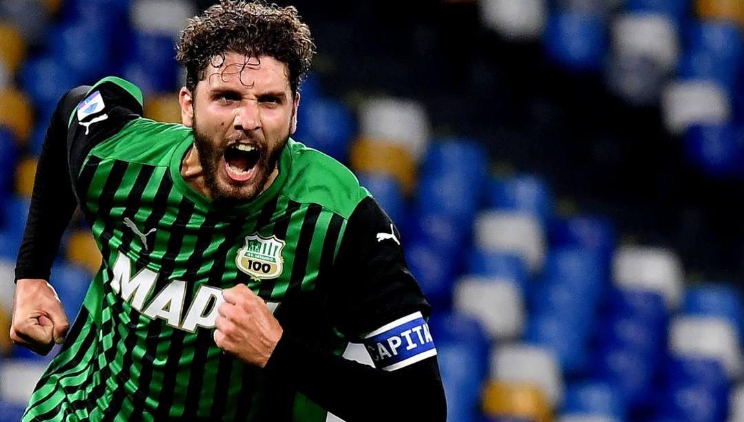 Manuel Locatelli, 23 centrocampista, dal Sassuolo alla Juventus. AFP