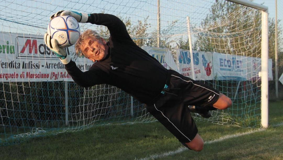 Lamberto Boranga, 78 anni, ex portiere professionista. ANSA