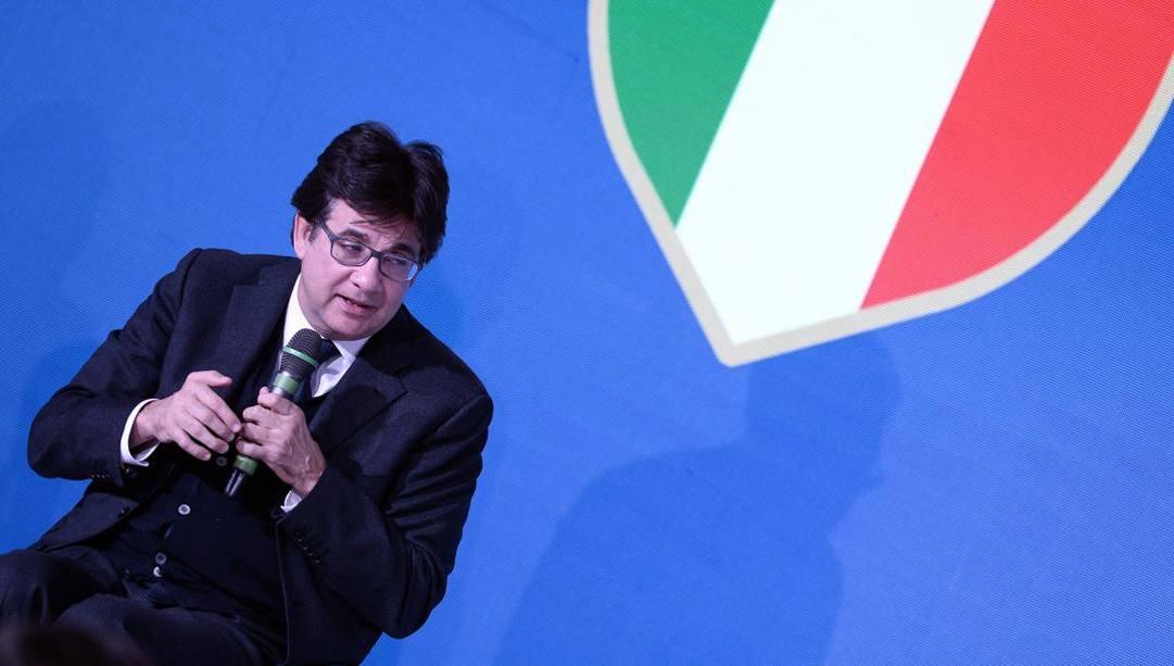Luca Pancalli. Lapresse