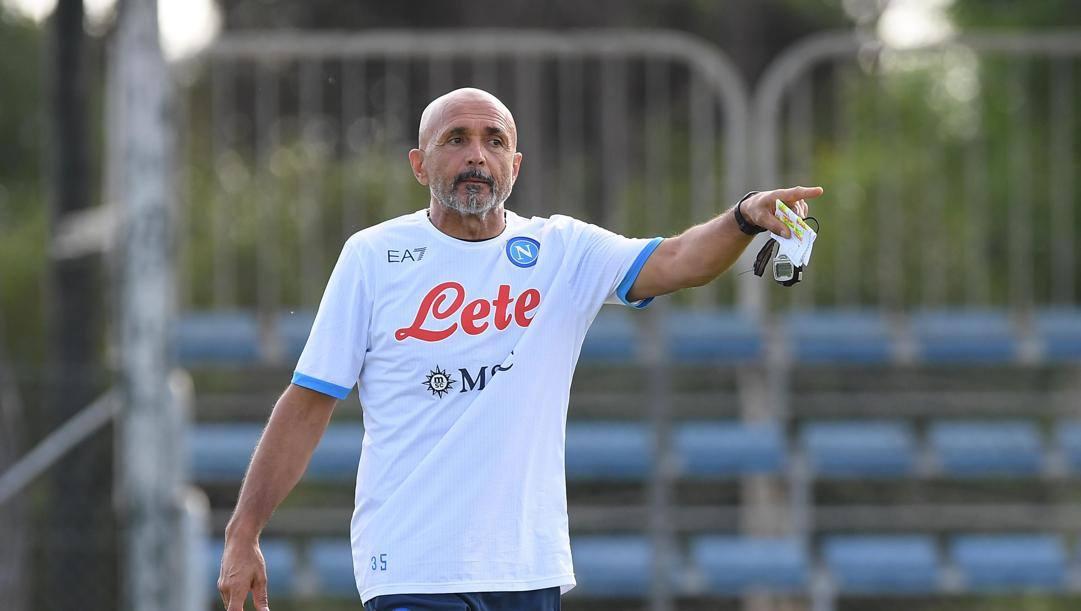 Luciano Spalletti, 62 anni, allenatore del Napoli