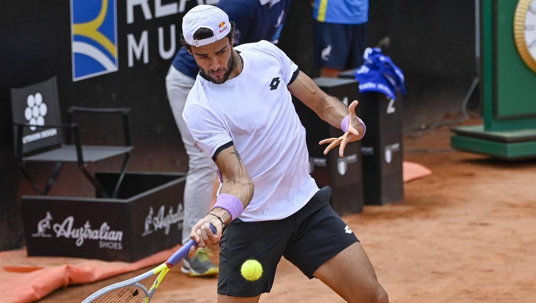 Matteo Berrettini, 25 anni, tennista numero 8 della classifica ATP