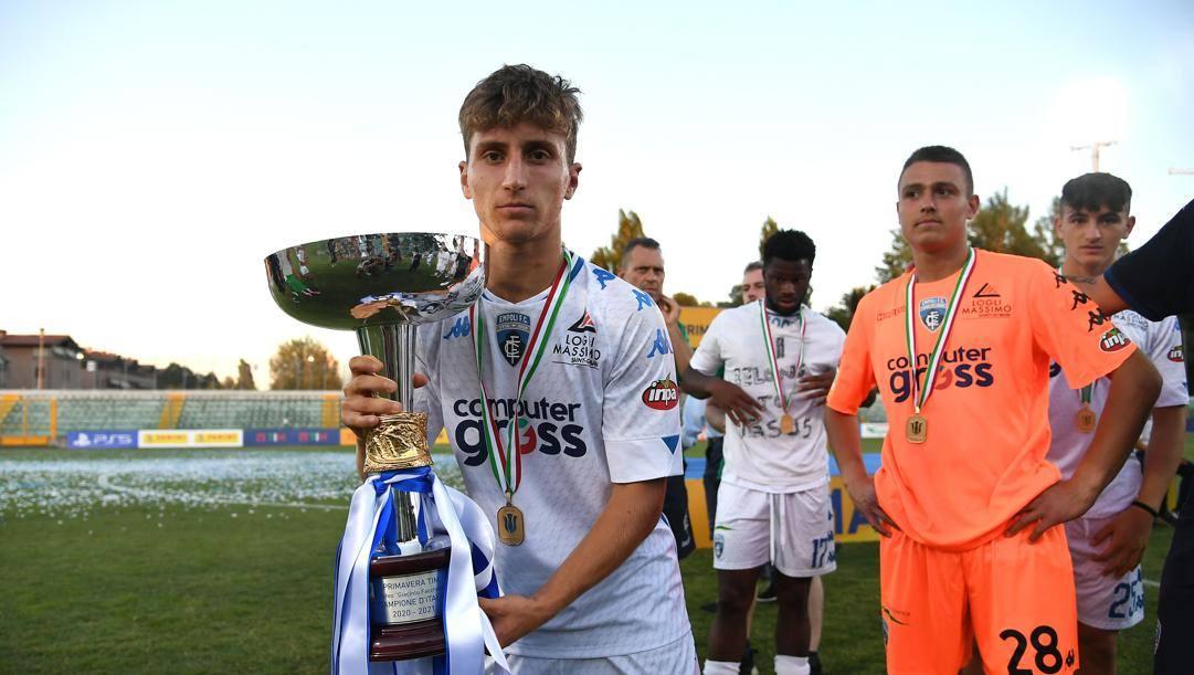 Tommaso Baldanzi, miglior giocatore della scorsa stagione con l'Empoli. Getty