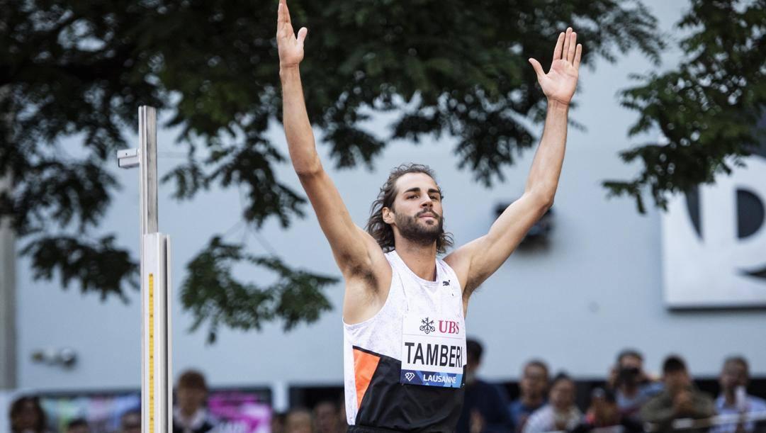 Gianmarco Tamberi, 29 anni. Epa