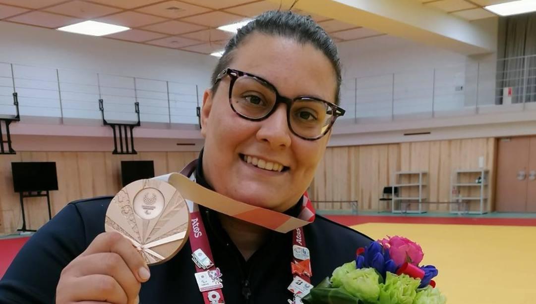 Carolina Costa conquista il bronzo nel judo +70 kg alle Paralimpiadi di Tokyo2020