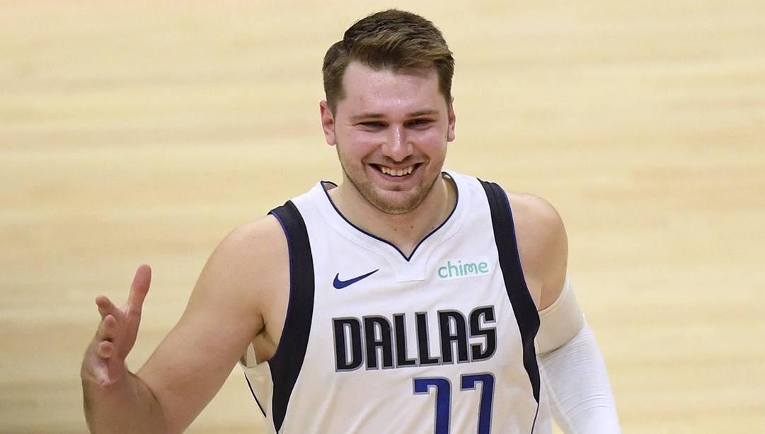 Luka Doncic, 22 anni, comincia la quarta stagione a Dallas. Ap
