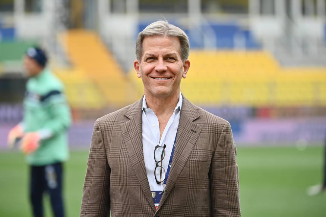 Kyle Krause, 58 anni, proprietario americano del Parma. GettyImages