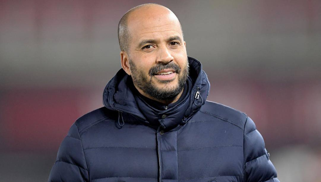 Pascal Jansen, 48 anni, allenatore olandese dell'Az Alkmaar. Afp