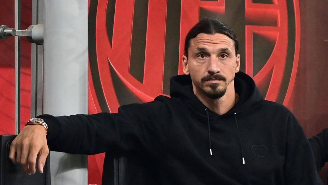 Zlatan Ibrahimovic, 39 anni. Afp