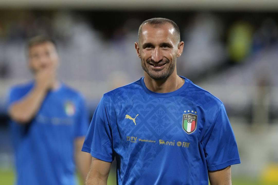 Giorgio Chiellini, 37 anni. Ap