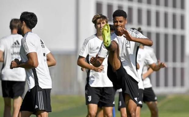 Koni De Winter in allenamento con la Juve. Getty
