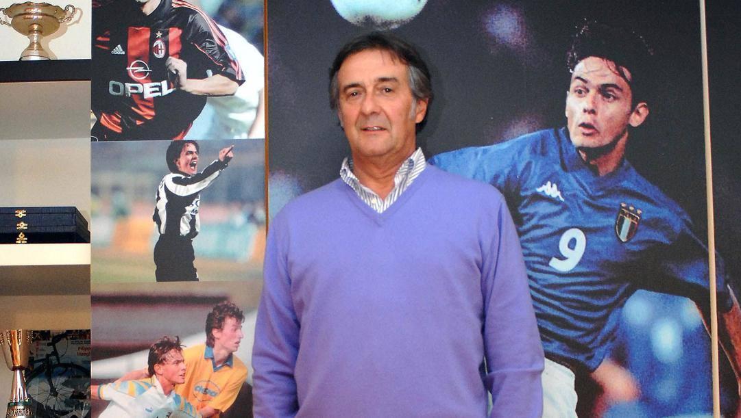 Giancarlo Inzaghi, padre di Simone e Pippo.