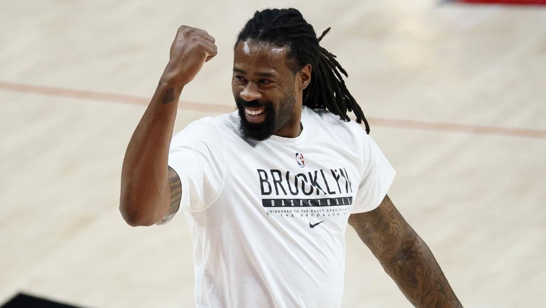 DeAndre Jordan, 33 anni, sta per firmare un contratto con i Lakers. Afp