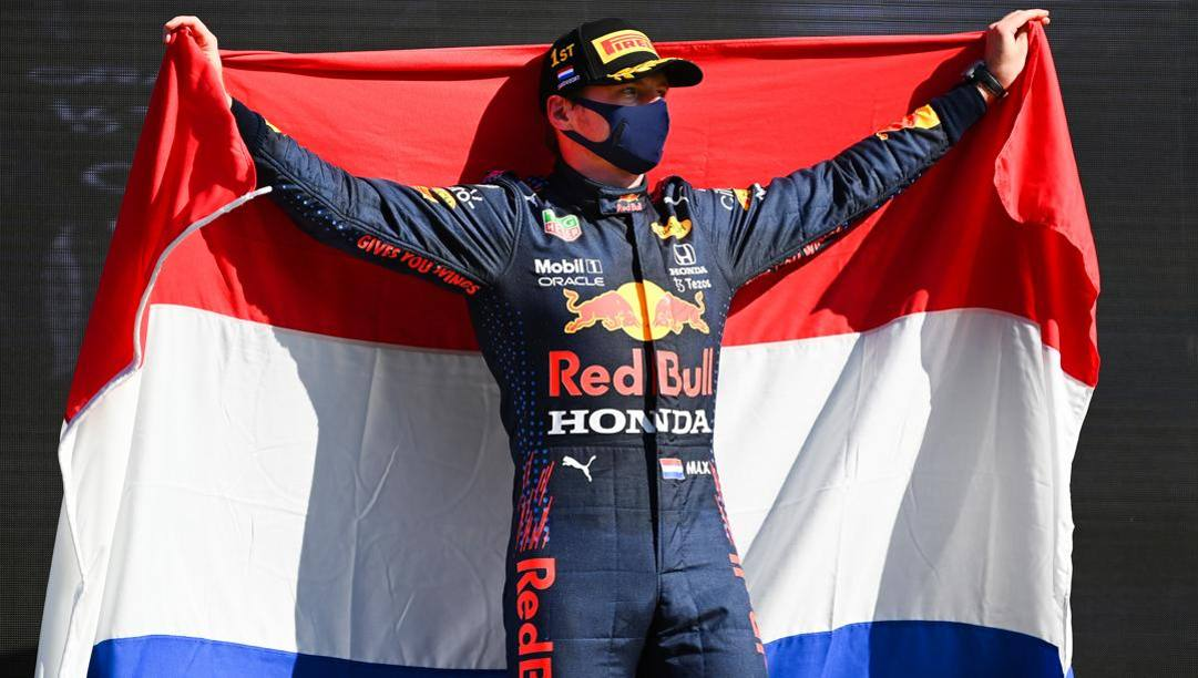 Max Verstappen, 23 anni, leader della classifica iridata 2021. Getty