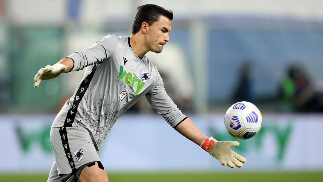 Emil Audero, 24 anni, portiere della Sampdoria dal 2018