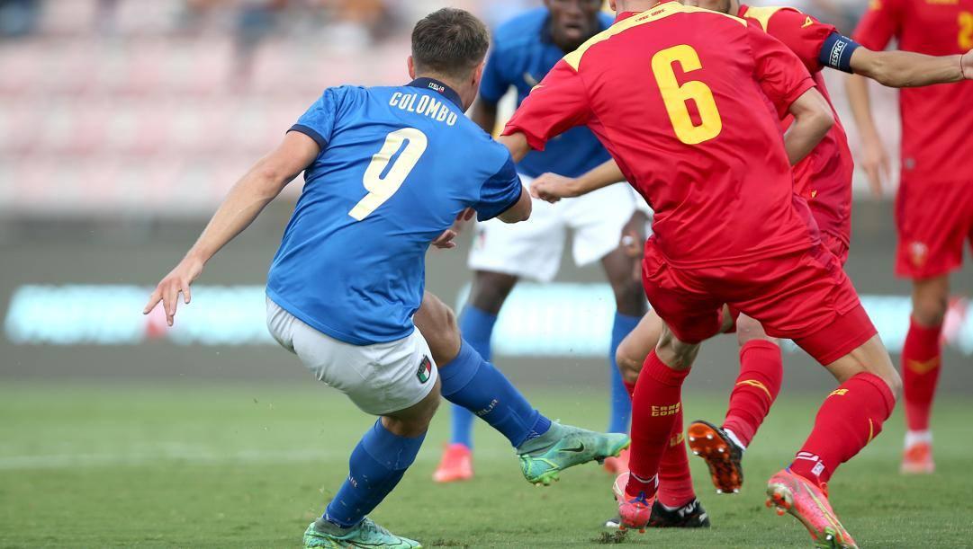 Lorenzo Colombo, 19 anni, attaccante della Spal in prestito dal Milan