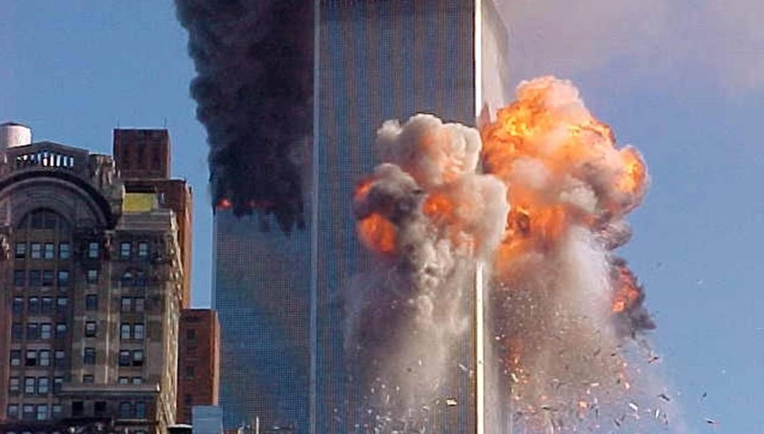 L'attacco alle Torri Gemelle dell'undici settembre 2001. Ansa