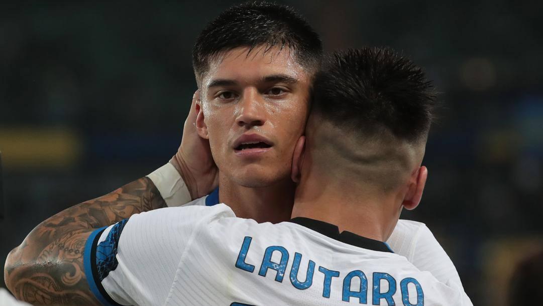 Correa e Lautaro, decisivi a Verona. Getty