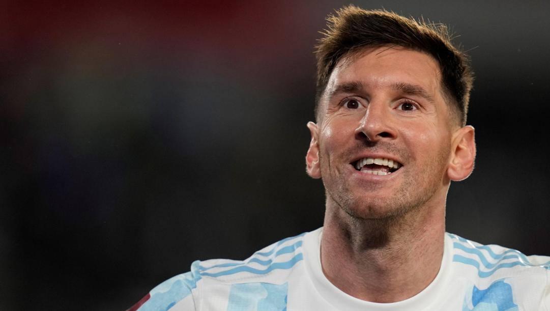 Leo Messi, 34 anni. Epa