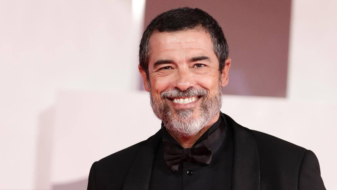 Alessandro Gassmann, 56 anni, alla Mostra del Cinema di Venezia. Getty Images
