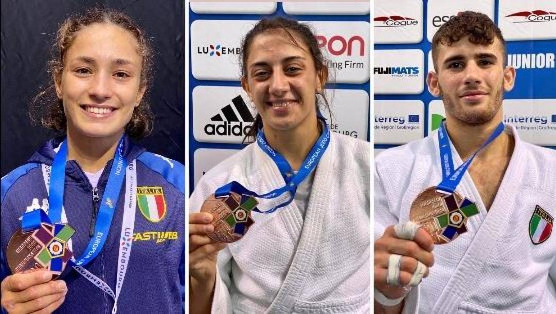 Da sinistra Assunta Scutto, Sara Lisciani e Vincenzo Pelligra
