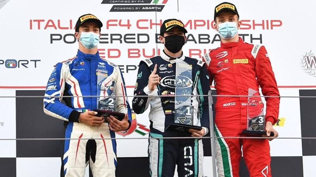 F4, baby blues faster and faster: Patrese again leader, Antonelli shines at his debut