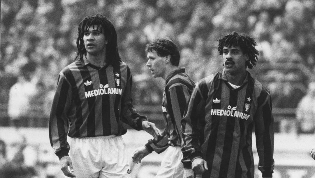 Milan, il trio olandese delle meraviglie: Ruud Gullit, Marco Van Basten e Frank Rijkaard