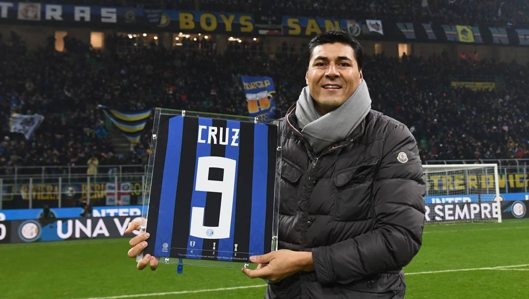 Julio Cruz, oggi 46 anni, ha giocato nel Bologna dal 2000 al 2003 e nell'Inter dal 2003 al 2009. Getty