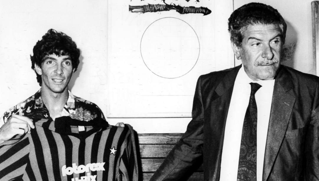 Paolo Rossi e Giussy Farina