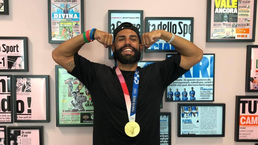 Luigi Busà, 33 anni, nel 2006 diventa il più giovane karateka a vincere un oro mondiale, bis senior nel 2012. Iridato Under21 nel 2007