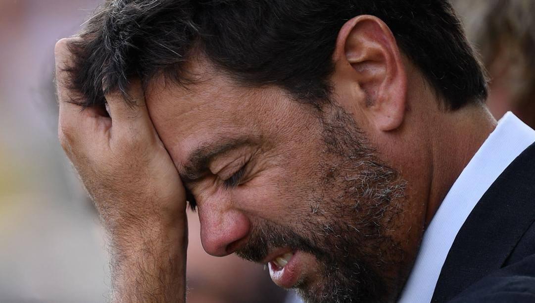 Andrea Agnelli, presidente della Juventus. Afp