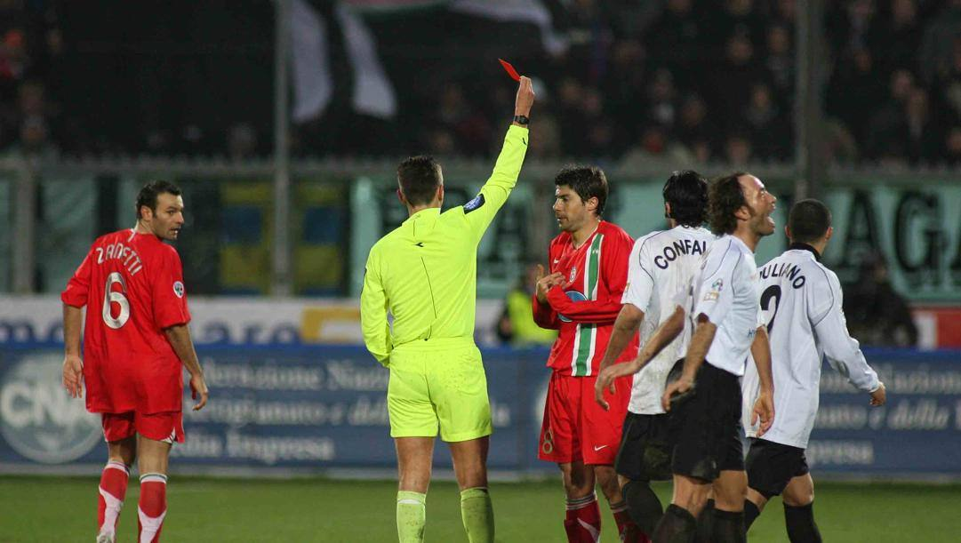 Spezia-Juventus del gennaio 2007. LaPresse