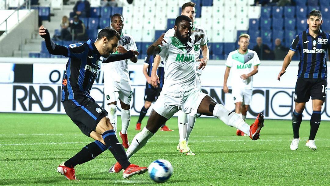 Il gol di Davide Zappacosta, 29 anni. Ansa