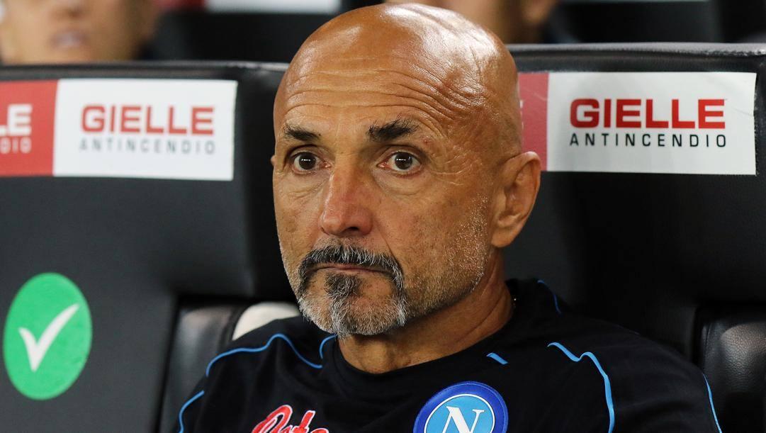 Luciano Spalletti, 62 anni. LaPresse