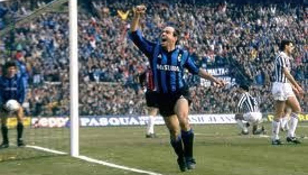 Piero fanna in maglia Inter