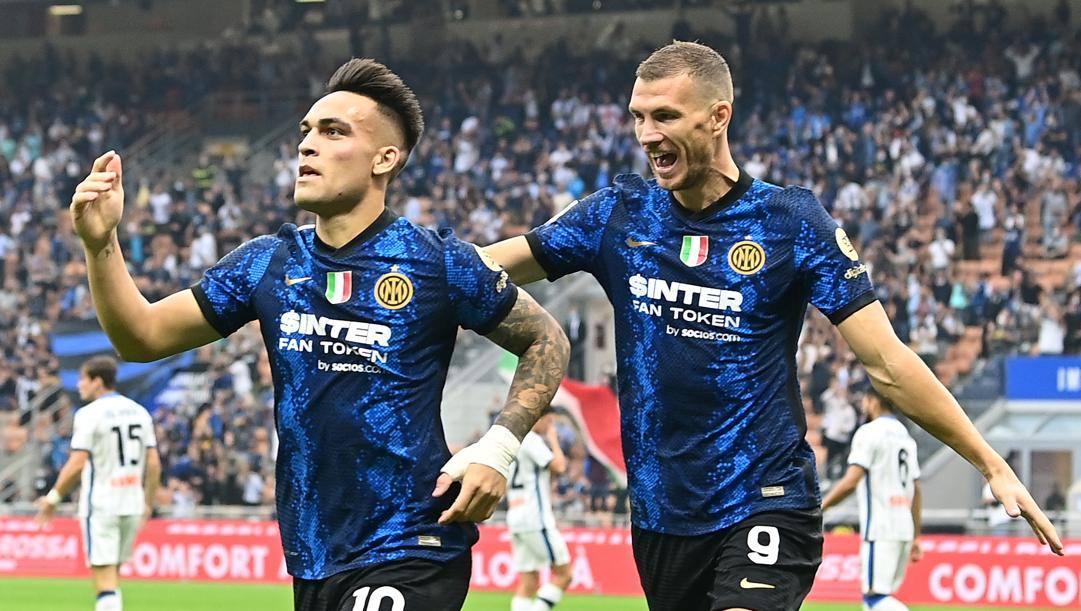 Lautaro Martinez, 4 gol, ed Edin Dzeko, 5. Getty