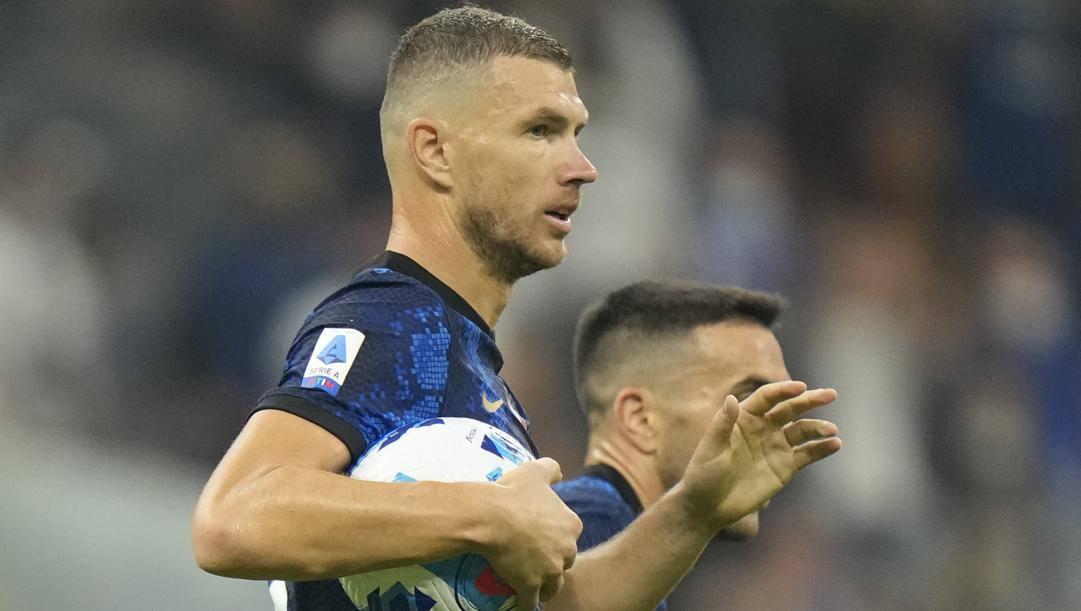 Edin Dzeko, 5 gol in campionato- Ap