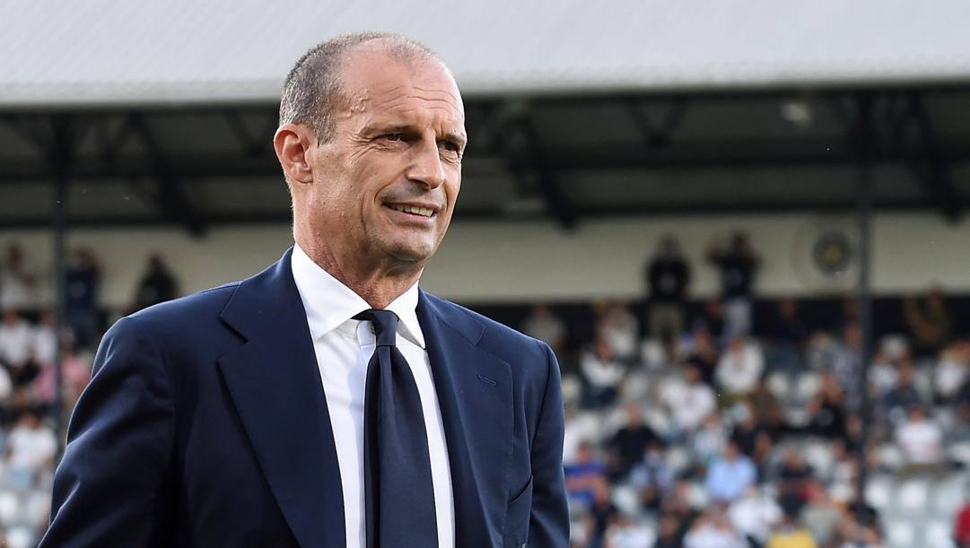 Massimiliano Allegri, 54 anni, ha firmato un quadriennale con la Juve. Lapresse